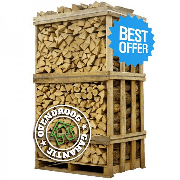 OUTLET | 1 pallet ovengedroogd berkenhout