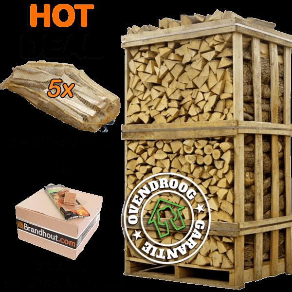 Hot Deal's van Haardhoutcompany | Ovendroog garantie | Gratis thuisbezorgen