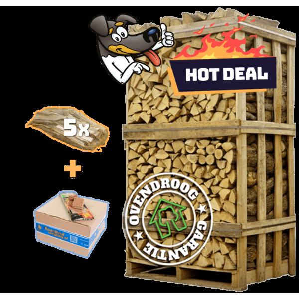 Berkenhout   hot deal (ca.120x80x210cm)   aanmaakhout   aanmaakblokjes