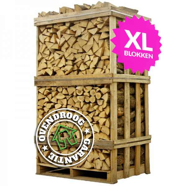 Berkenhout XL | hele pallet (ca.120x80x210cm)