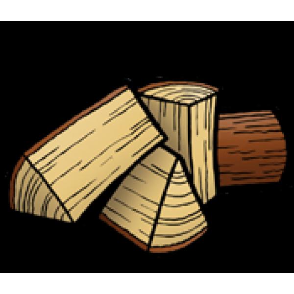 Inbouwhaard 3-4 blokken tegelijk stoken